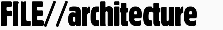 File magazine >> Architecture