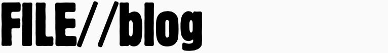 File magazine >> Blog