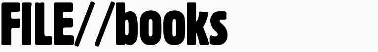 File magazine >> Books