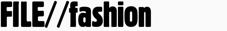 File magazine >> Fashion