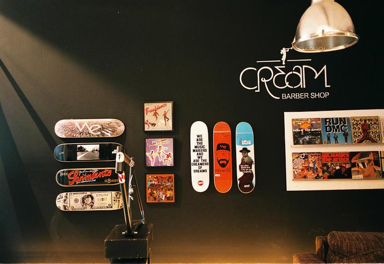 cream barber shop file magazine. Black Bedroom Furniture Sets. Home Design Ideas