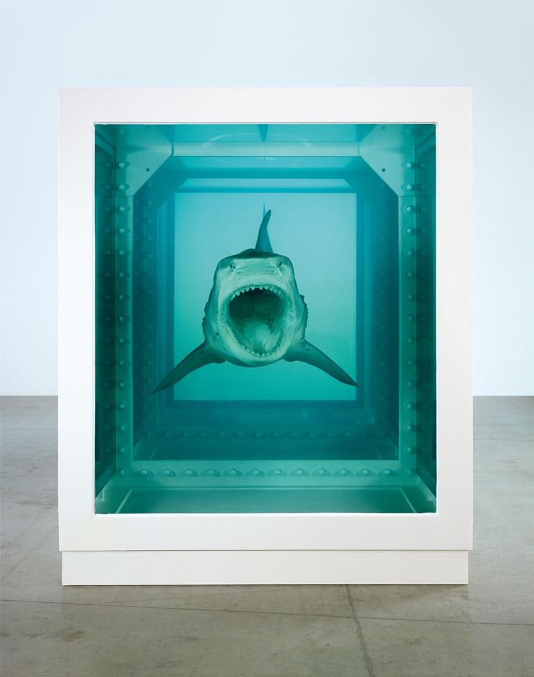 Damien Hirst In Glass